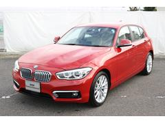 BMW118d ファッショニスタベージュレザー ACC デモカー