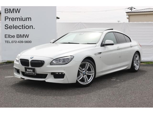 BMW 640iグランクーペMスポーツ黒レザー/サンルーフ/マフラー