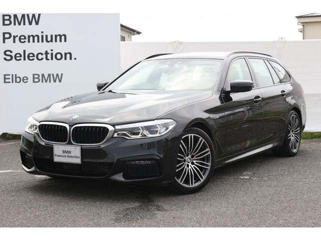 BMW 5シリーズ 523dツーリング Mスポーツ ベージュレザー/ACC/電動リアゲート