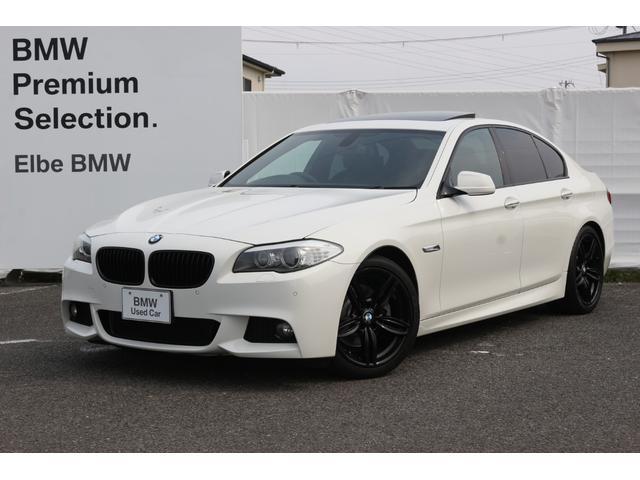 BMW 5シリーズ 528i 黒レザー/サンルーフ/タイヤ4本新品