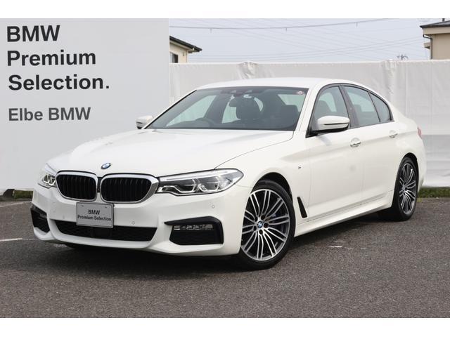 BMW 5シリーズ 530i Mスポーツ 黒レザー/Mブレーキ/ACC/タッチパネルトップビューカメラ/ETC/ジェスチャーコントロール/レーンチェンジW/スマホ充電