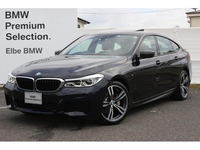 BMW 6シリーズ 623d グランツーリスモ Mスポーツ ブラウン革 ガラスS/R ハーマン&ロジック7 HUD 前後PDC デモカー アダプティブLED スマホ充電
