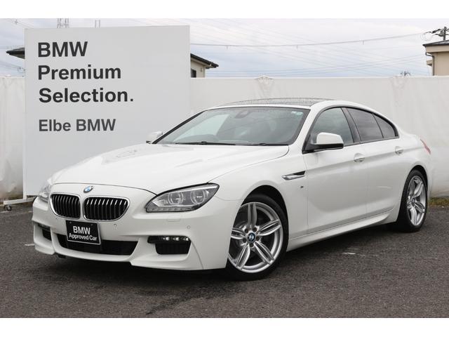 BMW 640iグランクーペ Mスポーツ レザー サンルーフ ACC  LED ドラレコ パドルシフト タイヤ4本交換