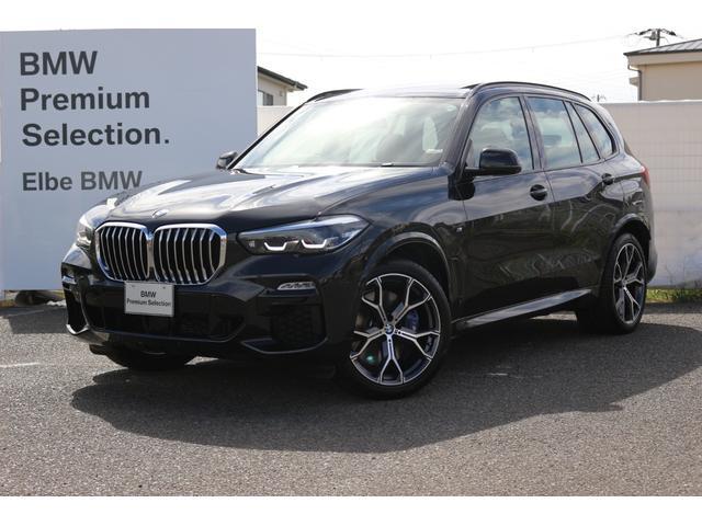 BMW X5 xDrive 35d Mスポーツ スカイラウンジ ブラウン革 ガラスS/R Mブレーキ 液晶メーター