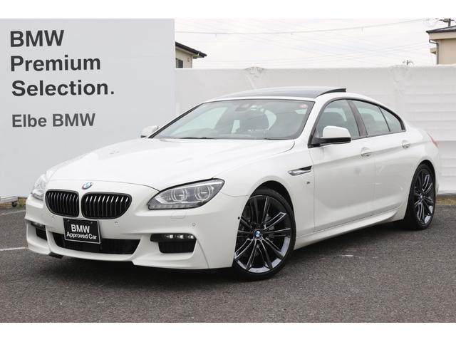 BMW 640iグランクーペ Mスポーツパッケージ Hi-Lineコンフォートパーキングサポ サンルーフ 20in レザー 純正HDDナビ リアビューカメラ ETC