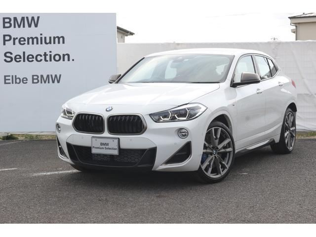 BMW M35i 20インチ赤レザーMブレーキHUDACC電動シートフロントシートヒータデュアルエアコンLEDライトバックカメラ前後PDC電動ゲートコンフォート