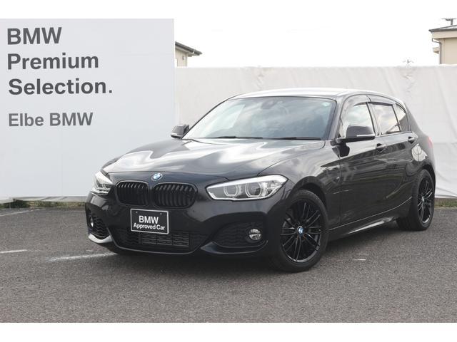 BMW 118i Mスポーツ ワンオーナー禁煙車 弊社下取り車 地デジTV コンフォートアクセス シートヒータ ブラックキドニーグリル 17インチ 前後PDC ブラックパネル クルーズコントロール ドアバイザー Rフィルム