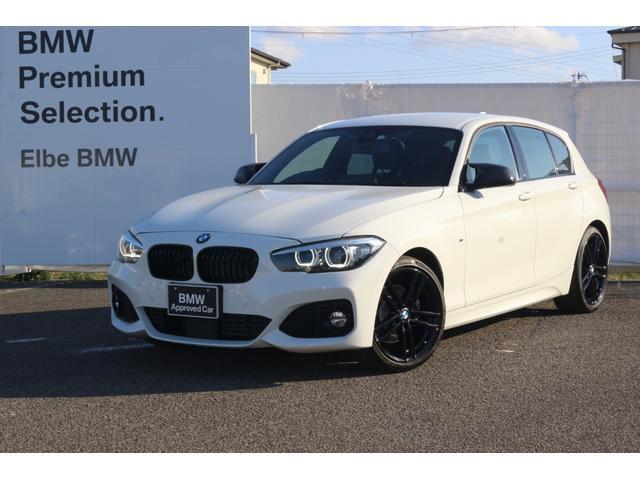 BMW 118d Mスポーツ エディションシャドー ワンオーナー禁煙車 弊社下取り車 18AW 電動シート コンフォートアクセス ACC 黒レザー 前後PDC 社外カーボンミラー ドラレコ アップグレードPKG