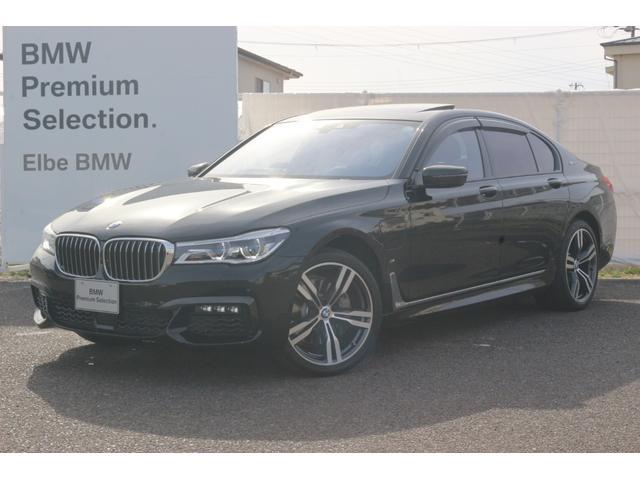 BMW 740eアイパフォーマンス Mスポーツ ワンオーナー 弊社下取り レーザーライト ハーマンカードン ドラレコ サンルーフ ACC HUD モカブラウンレザー ソフトクローズ ドアバイザー 前後シートヒーター