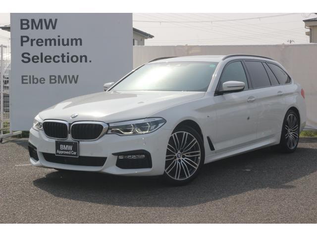 BMW 530iツーリング Mスポーツ 禁煙車 パノラマ ハーマンカードン HUD Mブレーキ ブラックレザー セレクトPKG 19インチAW 前後シートヒーター