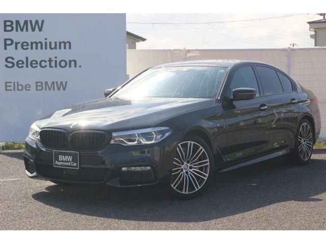 BMW 523i Mスポーツ ワンオーナー 禁煙車 弊社下取り Hi-Line(ブラックレザー) 19インチAW ランバーサポート ブラックキドニー シートヒータ