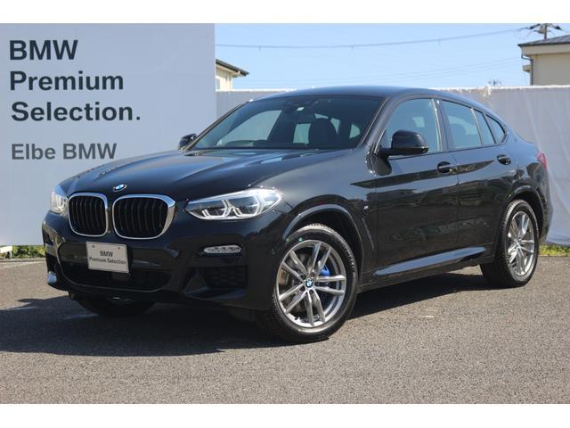 BMW X4 xDrive 30i Mスポーツ デモカー車 禁煙車HUDウッドP地デジランバーサポートブラックレザー19AWMブレーキ