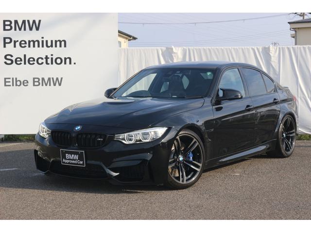 BMW M3 禁煙車 弊社下取り ブラックレザー 車高調(外品) M DCT ドライブロジック アダプティブMサスペンション