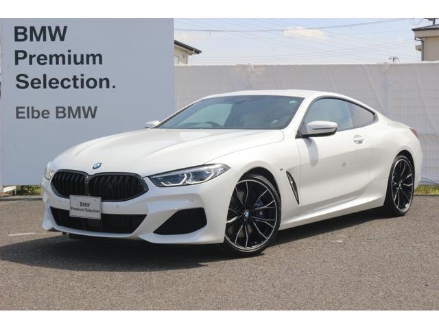 BMW 840i クーペ Mスポーツ ワンオーナー 禁煙車 弊社下取り ホワイトレザー レーザーライト 20in-MpafoAW ジェスチャー ハーマンカードン
