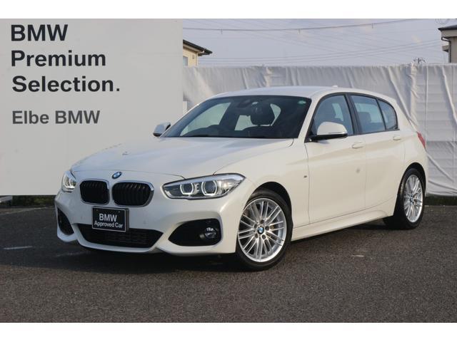 BMW 118d Mスポーツ 禁煙車 コンフォートA タッチナビ クルコン LED パーキングサポート コンフォートPKG LEDフォグ 前後PDC ブラックパネル