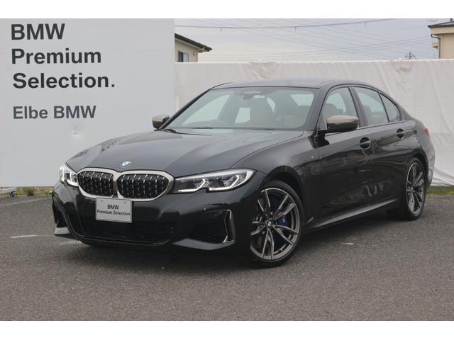 BMW 3シリーズ M340i xDrive デモカー 禁煙車 レーザーライト Pアシストプラス 茶革 HUD Fカメラ シートヒータ ハーマンカードン