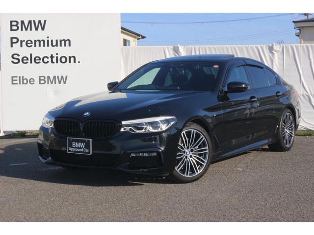BMW 523i Mスポーツ サンルーフ HUD 地デジ フロントカメラ イノベーションPKG サンルーフ 19インチAW ジェスチャーコントロール ブラックキドニーグリル