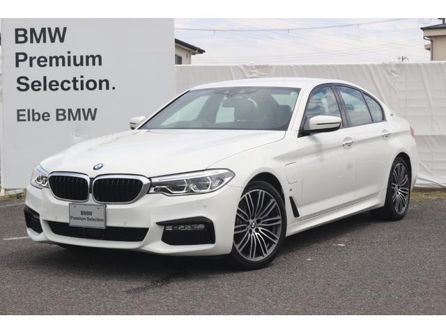 BMW 5シリーズ 530e Mスポーツアイパフォーマンス 電気走行可 正規ディーラー2年保証付  Mブレーキ 電動トランク Fドラレコ ACC 黒レザー レーダー 前後シートヒーター