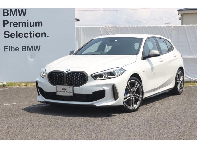 BMW M135i xDrive デビューPKG電動ゲートMブレーキACCデモカー 禁煙車Mバケットシート Mシートベルト ワイヤレスチャージ