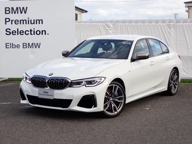 BMW M340i xDrive イノベーションPハーマンカードン黒革電動HUD シートヒーター ジェスチャー Mブレーキ レーザーライト アンビエント リアスポイラー