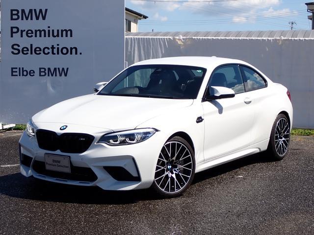 BMW コンペティション デモカー黒革電動クルコン前後PDC19インチAW