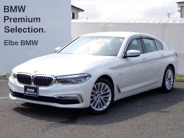 BMW 523d ラグジュアリー 黒革電動ACC電動ゲートFカメラ地デジ前後シートヒーター アダプティブLED リヤサイドローラーブランド