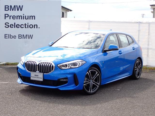 BMW 118i Mスポーツ デモカーACC電動ゲートイルミパネルAハイビームナビPKG コンフォートPKG ストレージPKG 18インチAW