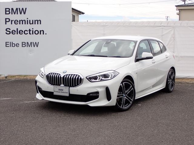 BMW 118i Mスポーツ イルミパネルACC電動ゲートナビPKG コンフォートPKG ストレージPKG 18インチAW デモカー