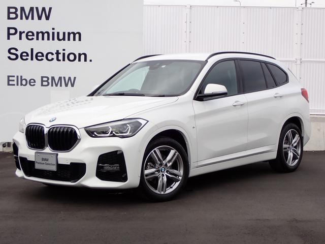 BMW X1 sDrive 18i Mスポーツ ワンオーナー 禁煙車 ACC 電動ゲート Rフィルム 前後PDC ハーフレザー
