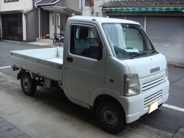 スズキ KCエアコン・パワステ オートマ 三方開 軽トラック