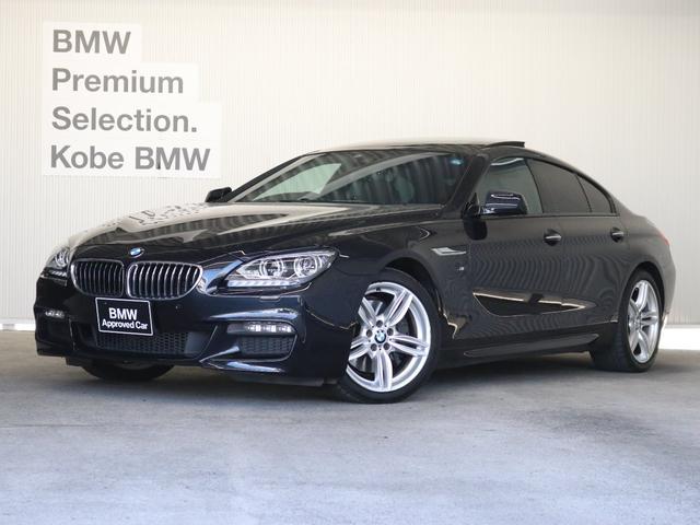 BMW 640iグランクーペブラックレザーガラスサンルーフETC
