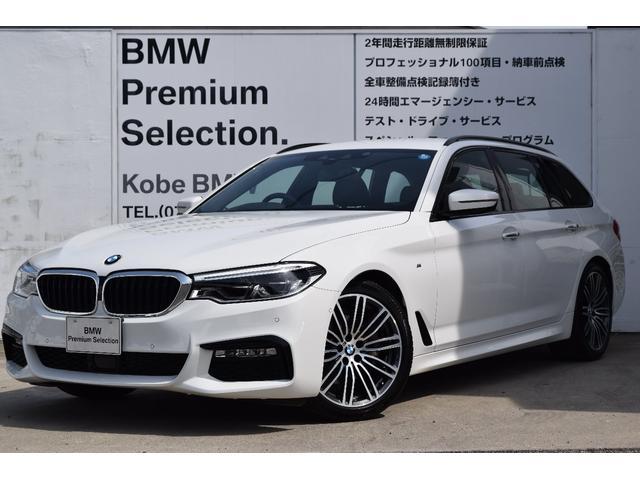 BMW 523iツーリング Mスポーツ弊社デモカーHDDナビ