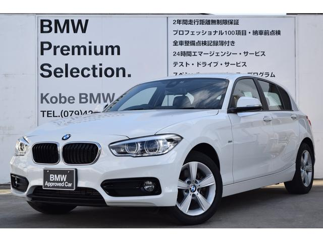 BMW 118d スポーツHDDナビバックモニターLEDヘッドライト