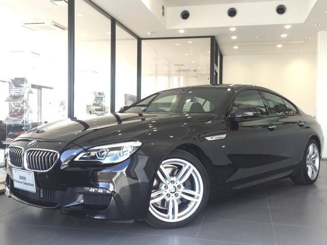 BMW 640iグランクーペ Mスポーツ黒革ACCHUDBカメラ