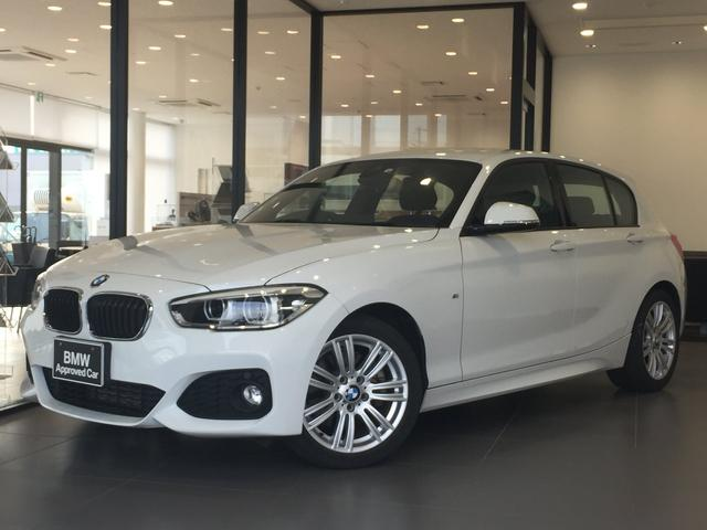 BMW 1シリーズ 118i Mスポーツ 純正HDDナビ クルーズコントロール アルカンターラクロスシート 衝突被害軽減ブレーキ 車線逸脱警告システム CD/DVD再生可能 純正17インチAW オートライト キーレスエントリー 後期モデル