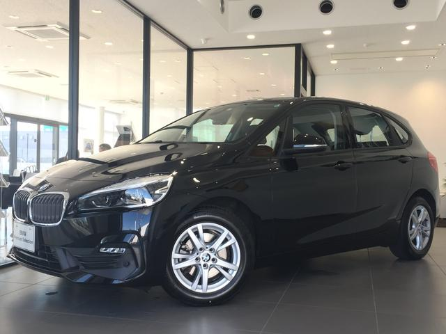 BMW 2シリーズ 218dアクティブツアラー 弊社社用車 HDDナビ バックモニター 禁煙車