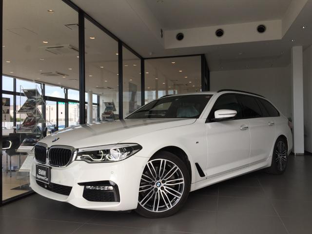 BMW 523dツーリング Mスポーツ デビューPKG 19AW 全周囲カメラ ETC LEDヘッドライト 電動シート 電動リアゲート ヘッドアップD TVチューナー ウッドパネル デジタルメーター アルカンターラクロス ACC