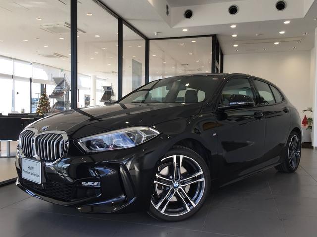 BMW 118i Mスポーツ 弊社デモカー LEDヘッドライト アクティブクルーズコントロール 電動テールゲート ハーフレザーシート
