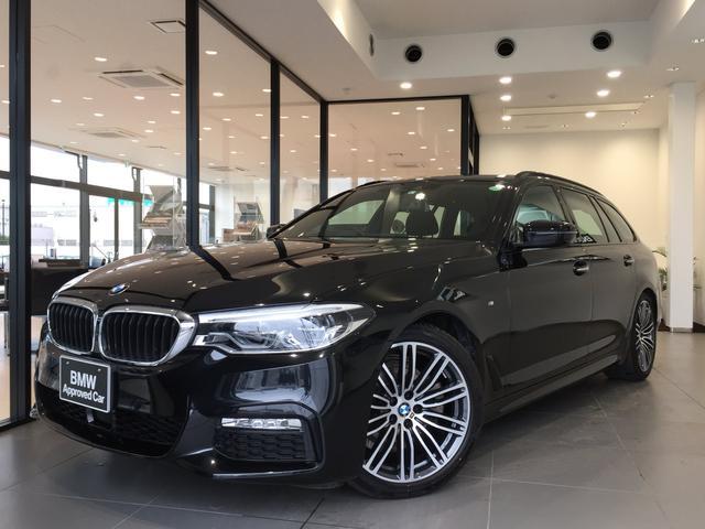 BMW 523iツーリング Mスポーツ アルカンターラクロスシート イノベーションPKG 19インチAW サンルーフ ヘッドアップディスプレイ 全周囲カメラ ETC LEDヘッドライト 衝突被害軽減ブレーキ 電動リアゲート