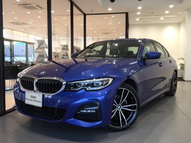 BMW 320i Mスポーツ 黒革シート OP19インチAW Bカメラ 前後ソナー 後退アシスト 電動シート LEDヘッドライト アクティブクルーズコントロール 衝突被害軽減ブレーキ スマートキー 純正タッチパネル式HDDナビ