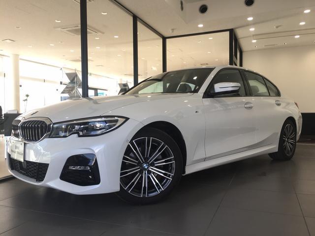 BMW 320d xDrive 弊社デモカー アクティブクルーズコントロール コンフォートアクセス 認定保証 純正18インチアルミホイール 4WD ハーフレザーシート 衝突被害軽減ブレーキ ディーゼル シートヒーター