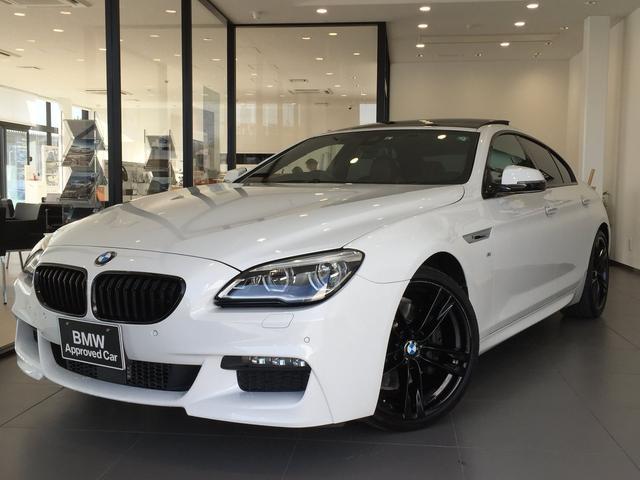 BMW 6シリーズ 640iグランクーペ Mスポーツ ヘッドアップディスプレイ アクティブクルーズコントロール ワンオーナー ガラスサンルーフ シナモンブラウンレザーシート 20インチアルミホイール