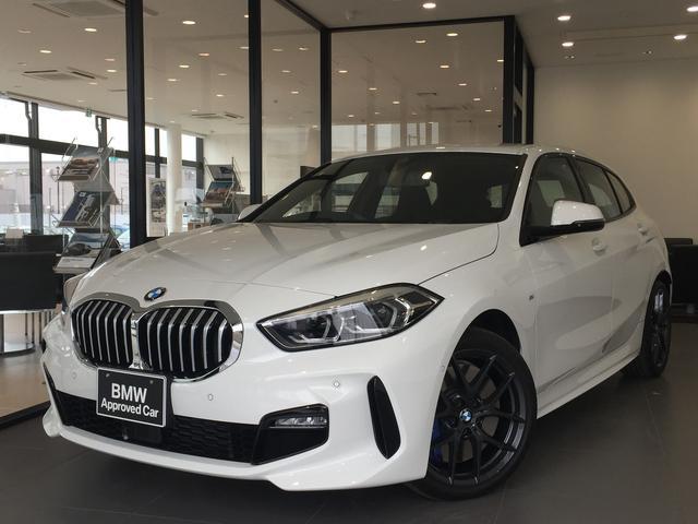 BMW 118d Mスポーツ ワンオーナー MスポーツプラスPKG Mシート Mシートベルト Mリアスポイラー Mスポーツブレーキ Vスポーク18AW LEDヘッドライト バックカメラ コンフォートPKG ACC OKBMW