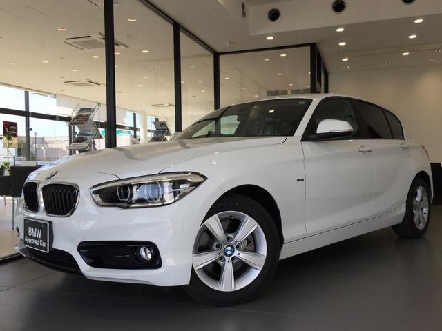BMW 118i スポーツ LEDヘッドライト ワンオーナー パーキングサポートPKG バックカメラ 障害物センサー スポーツシート クルーズコントロール マルチファンクションステアリングホイール