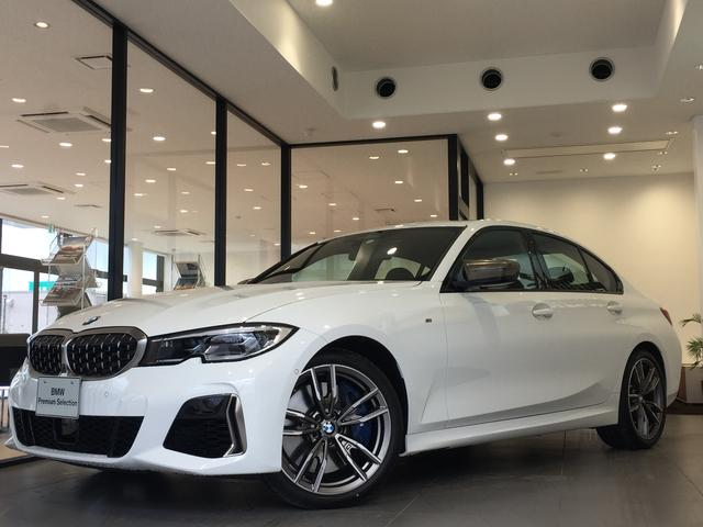BMW M340i xDrive ブラックレザーシート 純正19インチアルミホイール パーキングアシストプラス 衝突被害軽減ブレーキ レーザーライト 認定保証 全周囲カメラ 後退アシスト コンフォートアクセス ヘッドアップディスプレイ