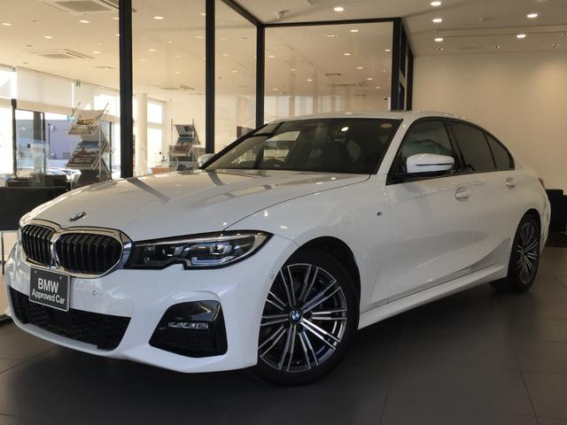 BMW 3シリーズ 320i Mスポーツ コンフォートパッケージ ヘッドアップディスプレイ ワンオーナー HDDナビ バックモニター 全方位カメラ 電動トランク ジェスチャーコントロール シートヒーター LEDヘッドライト ミラーETC