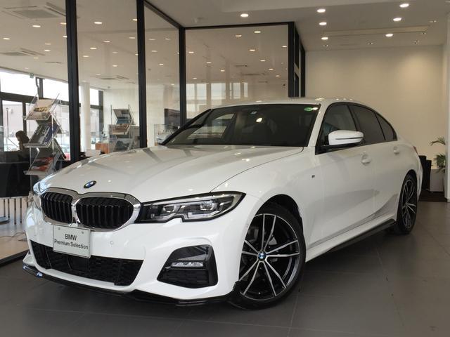BMW 320d xDrive Mスポーツ パーキングサポート+ コンフォートパッケージ Mパフォーマンスパーツ オプション19インチアルミホイール 純正HDDナビ ワンオーナー 禁煙車 全周囲カメラ 電動リアゲート センサテックコンビシート