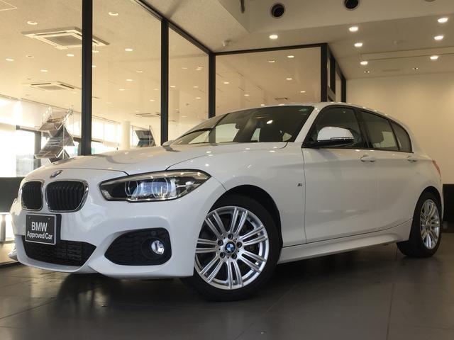 BMW 118d Mスポーツ HDDナビ バックモニター クルーズコントロール LEDヘッドライト リヤ障害物センサー ワンオーナー アイドリングストップ 車線逸脱機能 前車接近警告機能
