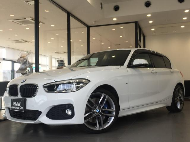 BMW 1シリーズ 120i Mスポーツ ファストトラックPKG アダプティブMサス アドバンスドパーキングサポートPKG オプション18インチアルミホイール LEDヘッドライト 純正ミラーETC 衝突被害軽減ブレーキ Mスポーツキャリパー
