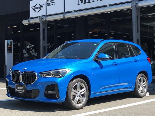BMW X1 sDrive 18i Mスポーツ 後期モデル コンフォートパッケージ 電動シート 電動リアゲート 18インチアルミホイール 衝突被害軽減ブレーキ LEDヘッドライト バックカメラ 前後コーナーセンサー ミラーETC車載器 純正ナビ